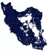 شیپ فایل نقاط روستایی کشور