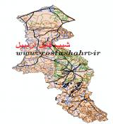 شیپ فایل استان اردبیل