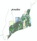 شیپ فایل شهر بندر عباس