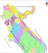 شیپ فایل استان ایلام