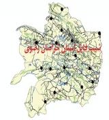 شیپ فایل استان خراسان رضوی