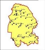 شیپ فایل استان خوزستان