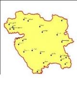 شیپ فایل استان کردستان