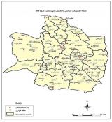 نقشه GIS شهرستان های بینالود، مشهد، نیشابور، چناران و فریمان