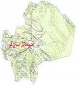 شیپ فایل استان قم